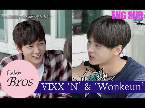 VIXX N & Wonkeun, Celeb Bros S7 EP2