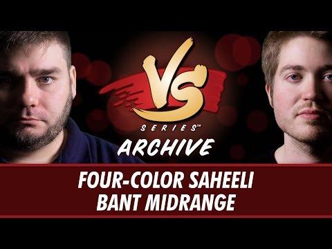 4/17/2017 - Michael VS Todd: Four-Color Saheeli vs Bant Midrange [Standard]