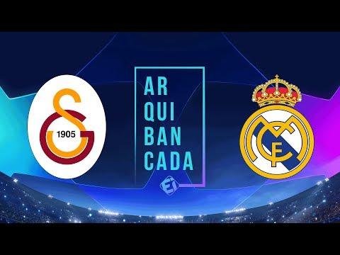 GALATASARAY X REAL MADRID (narração AO VIVO) - Champions League