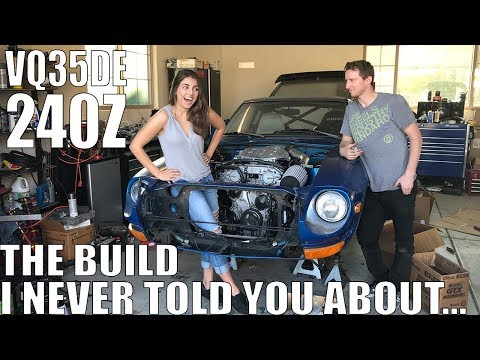 First Start Up! Mid-Engine VQ Swapped 240Z