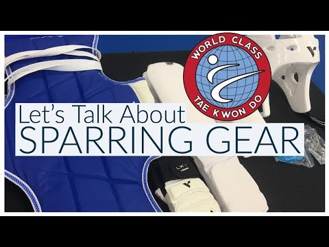 Intro To Tae Kwon Do Sparring Equipment