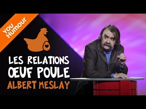 ALBERT MESLAY - Les relations oeuf-poule