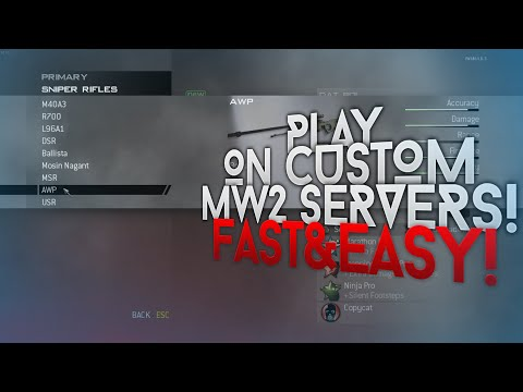 How to make Call of Duty: MW2 IW4PLAY server! by Call of