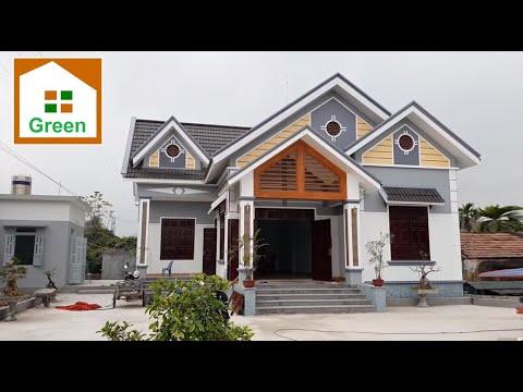 Nhà Đẹp   Mẫu Nhà Vườn Hệ 5 Mái Đẹp Nhất Nhì TP. UÔNG BÍ – T. QUẢNG NINH