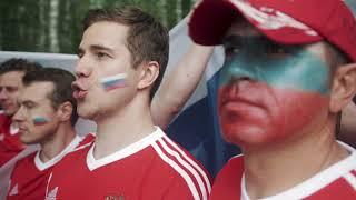 Российские болельщики ответили Исландцам спевшим 'Калинку' | ЧМ 2018 | Á Sprengisandi