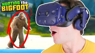 HUNTING THE LEGENDARY BIGFOOT IN THE WILDERNESS!! || Catch & Release VR HTC Vive Pro Gameplay Part 1
