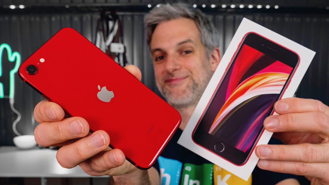 J'ai Reçu l'iPhone SE 2020 (489€) - YouTube