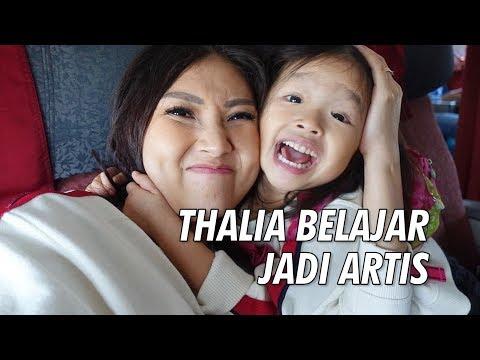 The Onsu Family -Thalia Belajar Jadi Artis