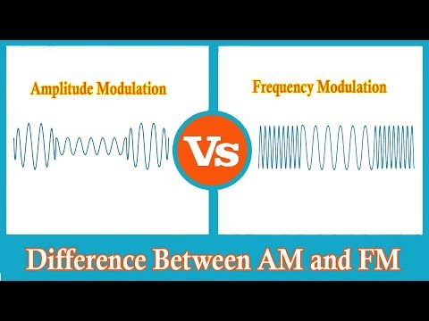 Amplitude Modulation vs Frequency Modulation │ AM vs FM │ Difference Between AM and FM