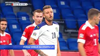 Rusija - Srbija 3:1   Pregled Utakmice   SPORT KLUB FUDBAL