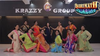 Badri Ki Dulhania Dance || Super Mom's - Krazzy Group || Bollywood Dance Choreography