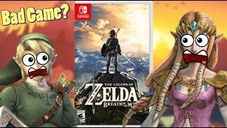 Zelda Breath of the Wild is a BAD ZELDA Game?!