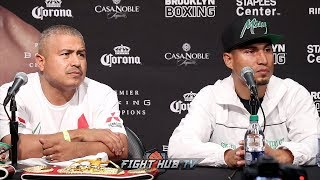 MIKEY GARCIA VS. ROBERT EASTER JR - THE FULL POST FIGHT PRESS CONFERENCE VIDEO