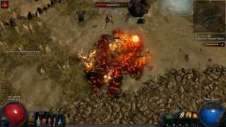 Path Of Exile Linux Mint Gameplay