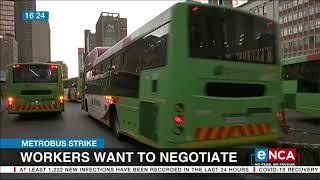 Metrobus strike: Workers want to negotiate screenshot 3