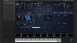 WAVE Synth Section Walkthrough