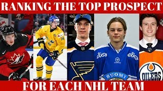 Ranking Top NHL Prospects - All 31 NHL Teams Top Prospect