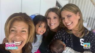 Savannah Guthrie And Jenna Bush Hager Had A Special Visit With Hoda And Baby Hope | TODAY