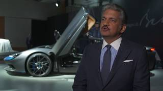 Introducing Pininfarina Battista - Interview Anand Mahindra