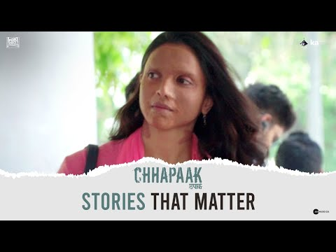 Stories that matter | Chhapaak | Deepika | Vikrant| Meghna | 10th January, 2020