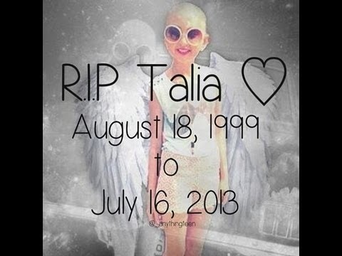 R.I.P - Talia Joy Castellano ~`8-18-1999 | 7-16-13`~