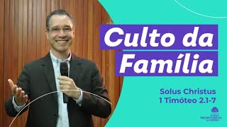 Solus Christus  - 1 Timóteo 2.1-7 - Rev Nilton Tomazini