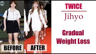 Download lagu Twice Jihyo Weight Loss Story 2015 2018 MP3