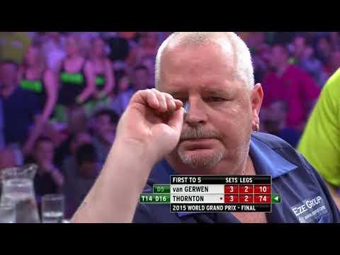Thornton v Van Gerwen - 2015 World Grand Prix Final Highlights