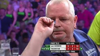 Thornton v Van Gerwen - 2015 World Grand Prix Final Highlights
