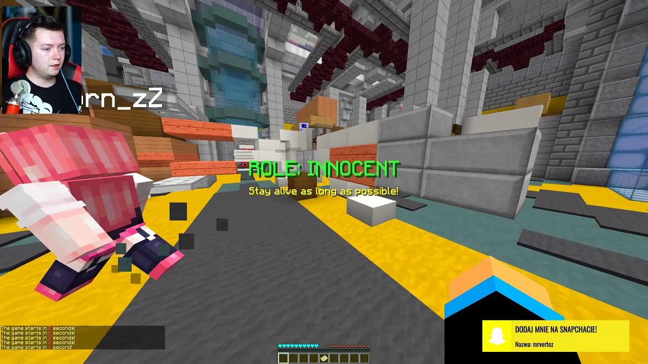 ZDRADZILI, ŻE JESTEM MORDERCĄ! | Minecraft Murder Mystery #15