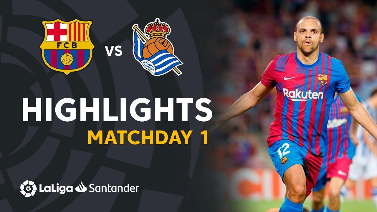 Resumen de FC Barcelona vs Real Sociedad (4-2)