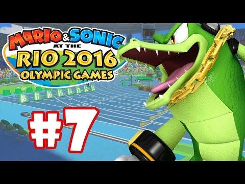 MARIO & SONIC RIO 2016 #7 - RUN, GUIOSS, RUN!