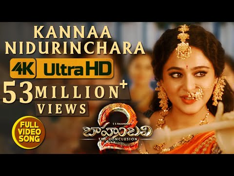 Thumbnail: Kannaa Nidurinchara Full Video Song - Baahubali 2 Video Songs | Prabhas, Anushka
