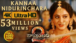 Kanna Nidurinchara Video Song - Baahubali 2 Video Songs | Prabhas, Anushka