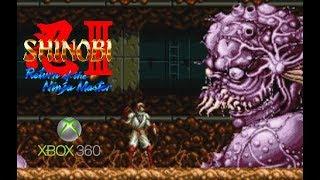 Shinobi III: Return of the Ninja Master playthrough (Xbox 360)
