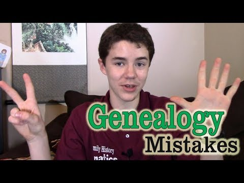 7 Common Genealogy Mistakes - And How to Avoid Them