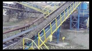 Żwirownia - praca kruszarki KDC 33 kopalnia kruszywa Kruszarki