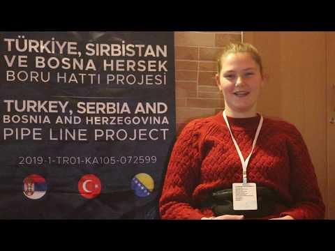 Sırbistan Grubu Katılımcısı Olan Anida Redžović'in Proje Hakkındaki Görüşleri.