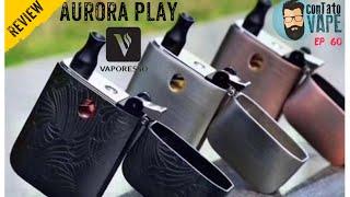 REVIEW AURORA PLAY VAPOŔESSO EM PORTUGUÊS BR