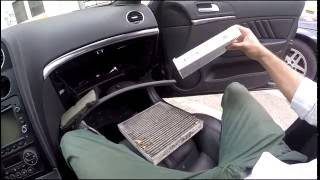 DIY / How to... # Change Cabin/Pollen Filter Alfa Romeo 159(ENG.SUBS)