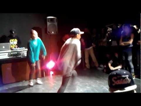 Kyara & Nadja (Luda crew) Soul Cypher 2011  Hip hop pre selection