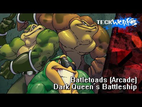 Battletoads (Arcade) - Dark Queen's Battleship [teckworks Cover]