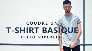Découvrez comment coudre facilement un T-shirt basique ! Vous pouvez suivre ce tuto pour vous aider à coudre un patron de T-shirt que vous avez à la maison, ...