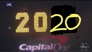 Times Square Ball Drop 2020