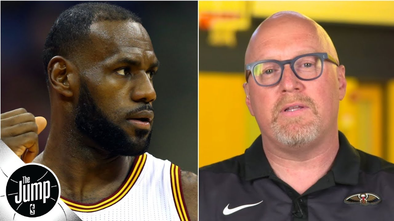 David Griffin appears to be in trouble with LeBron James