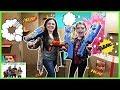 Boys vs Girls Nerf Box Fort Battle / That YouTub3 Family