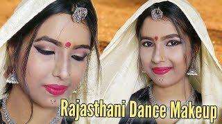 Rajasthani Dance Makeup Look || Easy Makeup Tutorial