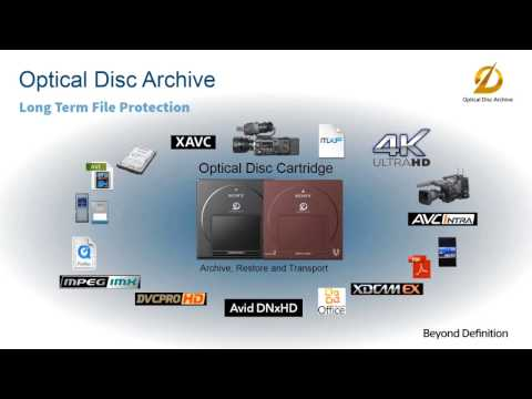 XenData and Sony Webinar - Archiving on 100 years Sony Optical Discs