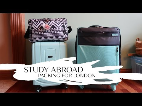 STUDY ABROAD Packing For London!