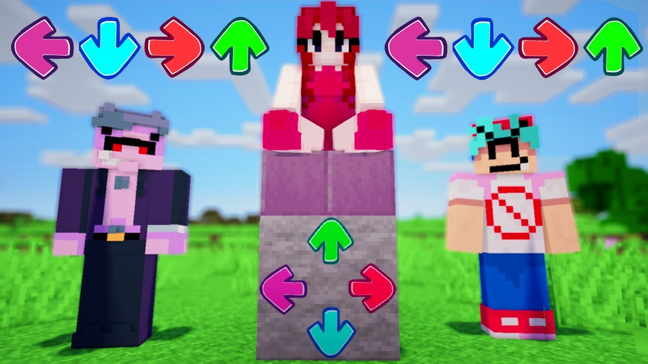 Download If Friday Night Funkin' Took Over Minecraft